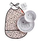 Set Pappa Happy Dots Rosa