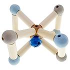 Sonaglio in legno Twist Blue