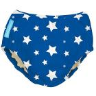 Costume Contenitivo e Mutandina Trainer 2 in 1 White Stars Blue