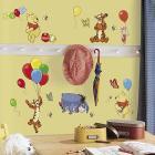 Adesivi murali rimovibili Winnie Pooh e Friends