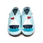 Scarpe in Pelle Primi Passi Sailboat Baby Blue