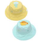 Cappello Estivo Reversibile SPF 50+ Pesce/Medusa