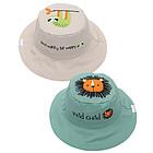 Cappello Estivo Reversibile SPF 50+ Leone/Bradipo