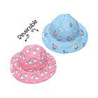 Baby Cappello Estivo Reversibile SPF 50+ Arcobaleno/Unicorno