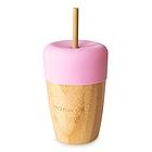 Bicchiere in Bambu con Cannuccia