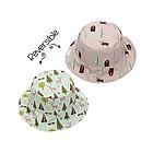Baby Cappello Estivo Reversibile SPF 50+ Alce/Cottage