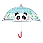 Ombrello manuale trasparente Panda