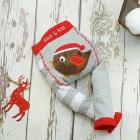 Leggings Natale Pettirosso