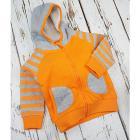 Felpa con cappuccio Arancione