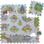 Tappeto Puzzle Città