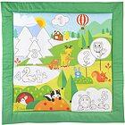 Tappeto Colori e Numeri 80 x 80 cm