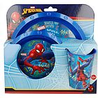Set Pappa 3pz Spiderman Graffiti