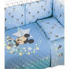 Coordinato copriletto con paracolpi Mickey Baby