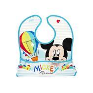 Bavaglino con tasca Mickey Simply