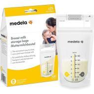 Sacche per la Conservazione del Latte Materno 25 pz