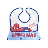 Bavaglino Spider Man con Tasca