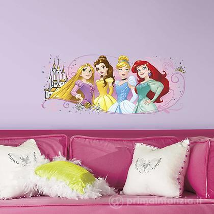 Adesivi murali rimovibili Principesse Friendship Giant