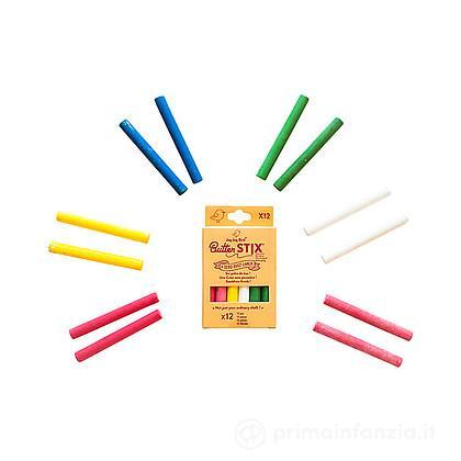 Gessetti Zero Polvere Multicolor 12pz