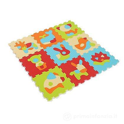 Tappeto Puzzle Animali 9pz