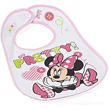 Bavaglino in cotone Disney Minnie