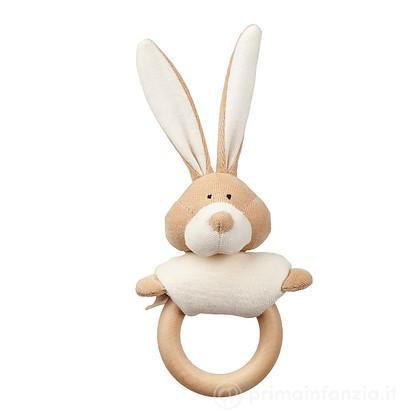 Anello Dentizione in legno Bunny