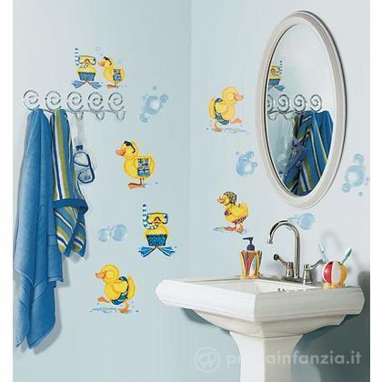 Adesivi murali rimovibili Bubble Bath
