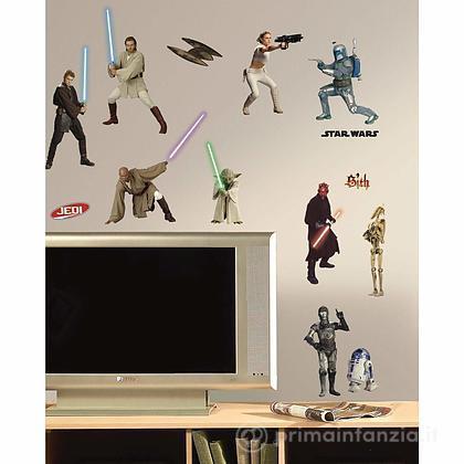 Adesivi murali rimovibili Star Wars Prequel