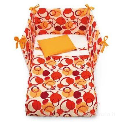 Set Letto 3pz Miro Orange