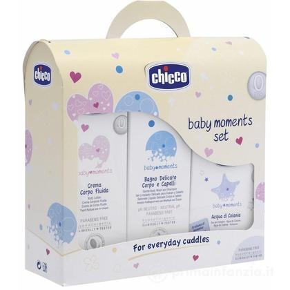 Baby Moments Set Bagno-Crema-Colonia