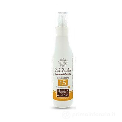 Crema solare SPF 15 Sole Switch Family