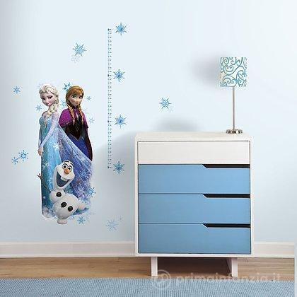 Adesivi murali rimovibili Elsa, Anna e Olaf Frozen Growth Chart