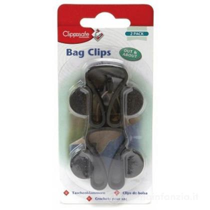 Clip portaborse per passeggino