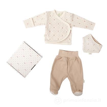 Baby Gift Set Abiti in Cotone Biologico 3pz