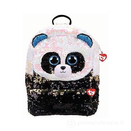 Zaino peluche con Paillettes Panda