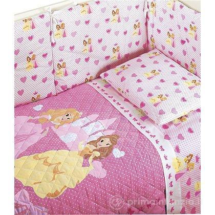 Copriletto con paracolpi Principesse Baby