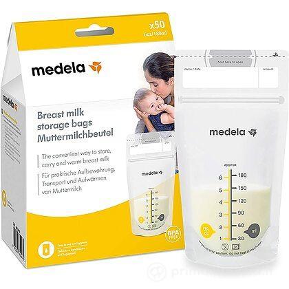 Sacche per la Conservazione del Latte Materno 50 pz