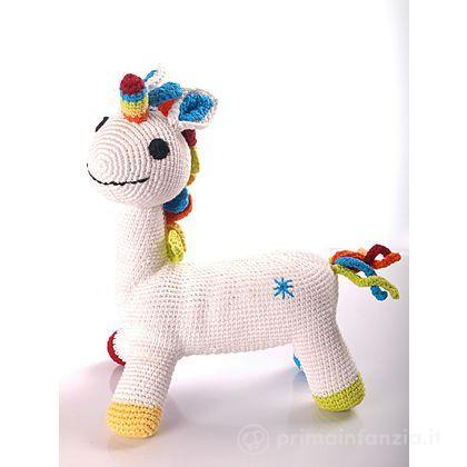 Pupazzo Unicorno 28 cm
