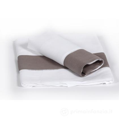 Set lenzuolo e federa lino - cotone