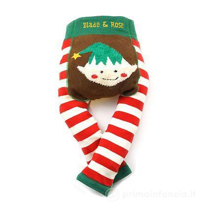 Leggings Elfo di Natale