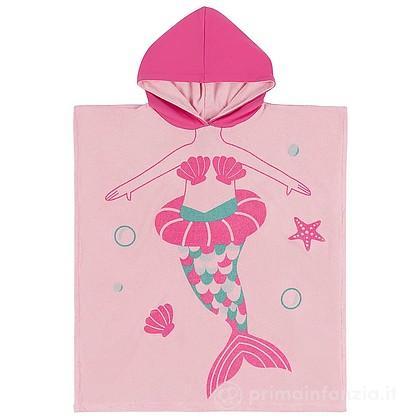 Accappatoio Poncho Marietta la Sirena 2-6 anni
