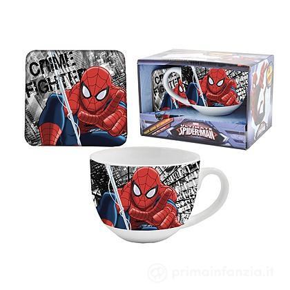 Tazza e Sottobicchiere Spider Man