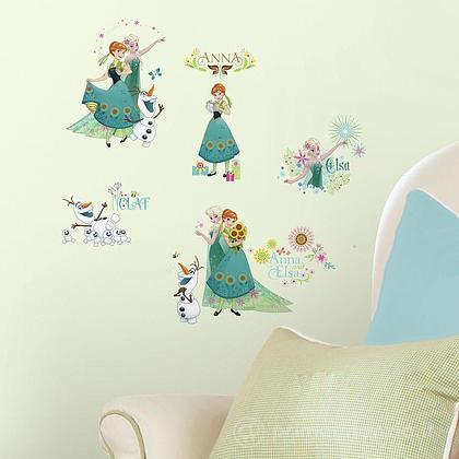 Adesivi murali rimovibili Frozen Fever