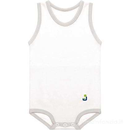 Body cotone smanicato 0-12 mesi