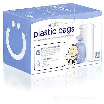 Sacchetti in plastica per pannolini