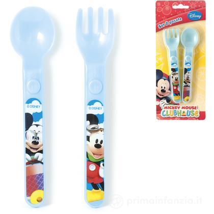 Set 2 posate Disney Mickey Mouse