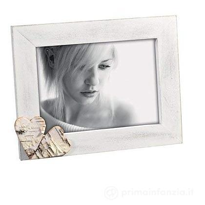 Cornice portafoto Cuori Legno 13 x 18 cm