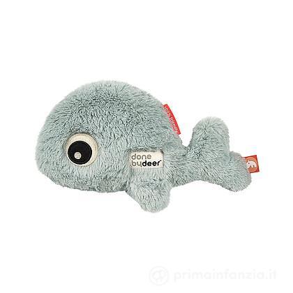 Peluche Balena Cuddle Cute Wally Blu