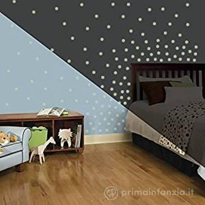 Adesivi murali rimovibili Glow in the Dark Confetti