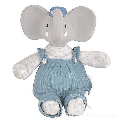 Pupazzo Alvin l'Elefante in Caucciù Naturale e Cotone Bio