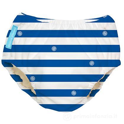 Costume Contenitivo e Mutandina Trainer 2 in 1 Blue Stripes